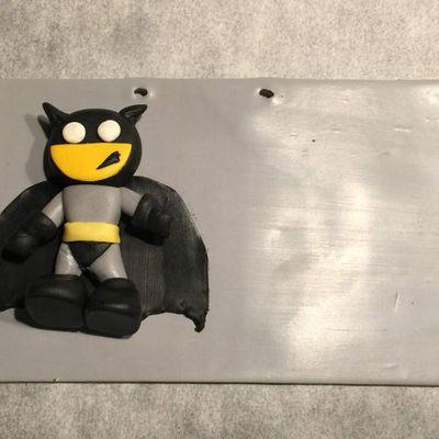 Plaque de porte Batman