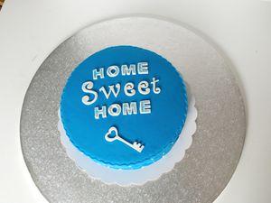 Gâteau pour crémaillère (bleu)