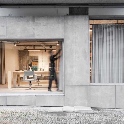 MAISON826, PEDRO REMY'S HAIRSTYLIST SPACE IN BRAGA, DESIGNED BY NUNO FERREIRA CAPA