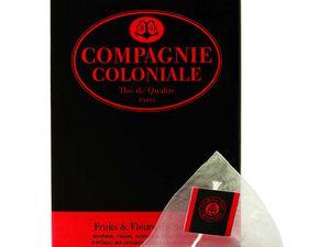 Découverte du Thé Compagnie Coloniale