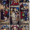 Saint-Nic.Dépose et éloignement des vitraux pour sauvegarde durant l'état de guerre