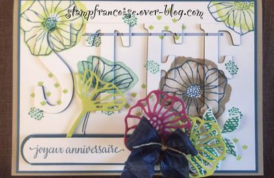 Stampin'Up!  Joyeux anniversaire Stephy