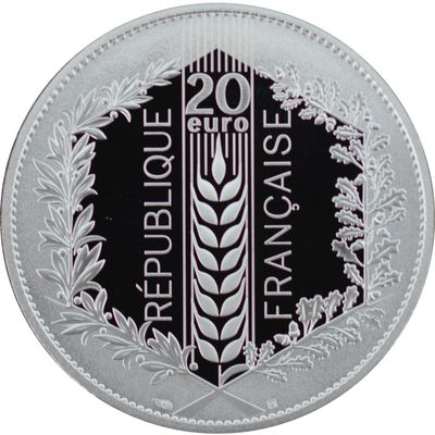 20 euro BE Natures de France: Le Laurier 2021 France