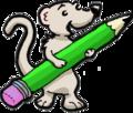 Mangouste et son crayon