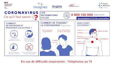 traduction info COVID 19