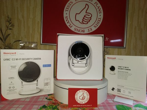Unboxing de la caméra de surveillance Full HD - Honeywell Lyric C2 @ Tests et Bons Plans