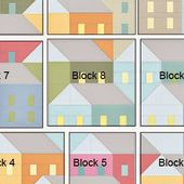 Pretty Little Quilts: Hillside Houses QAL: Laying Out Your Blocks