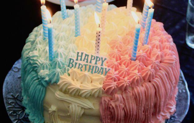 Gâteau bleu blanc rouge!!! Allez les bleus!!!