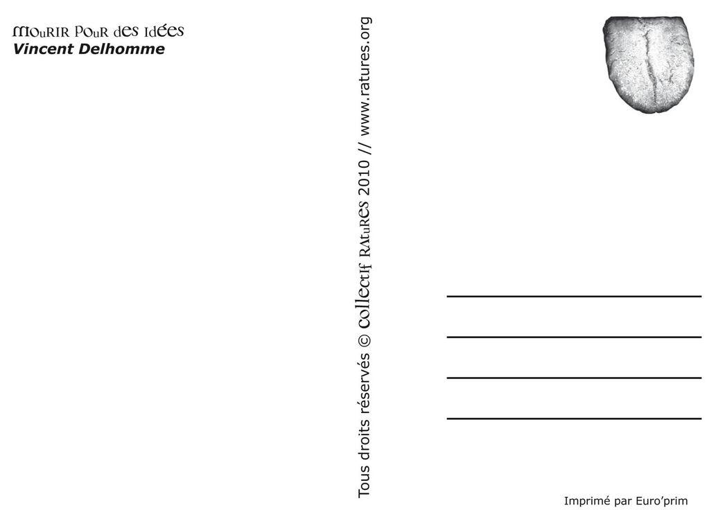 Poésies postales RAtUReS !!  Voir page de PUBLiCATiONS// Passez vos commandes par email : contact@ratures.org