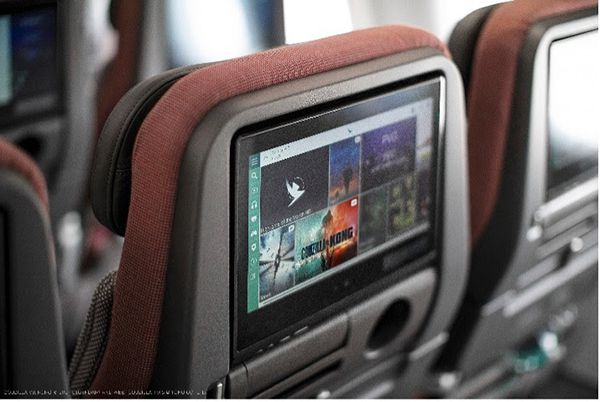 cathay pacific a321 neo cabine