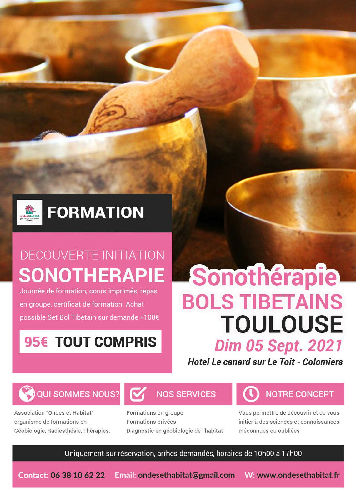 ► TOULOUSE FORMATIONS Calendrier