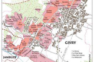 Comprendre  le vignoble de Givry en Côte Châlonnaise - Écrit par Patrick Essa