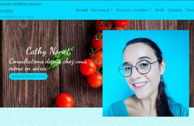 Mon site pro de diététicienne