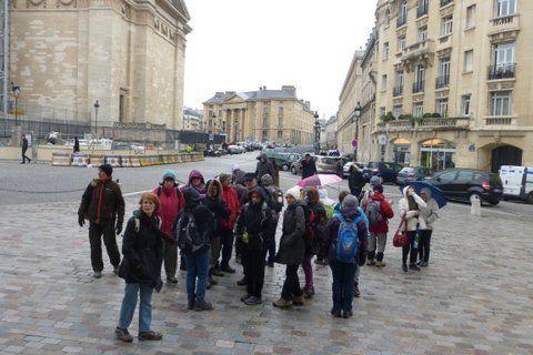 Sortie 1/2 journée du dimanche 1er février 2015 Paris au Moyen-Age, la muraille de Philippe-Auguste  2ème partie Rive Gauche  De l'Hôtel de Sens à St Germain des Prés