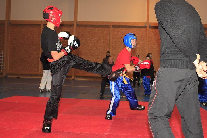 Compétition de Full-Contact organisée par la team Yannick TAMAS de Fonsorbes le 17 décembre 2011
