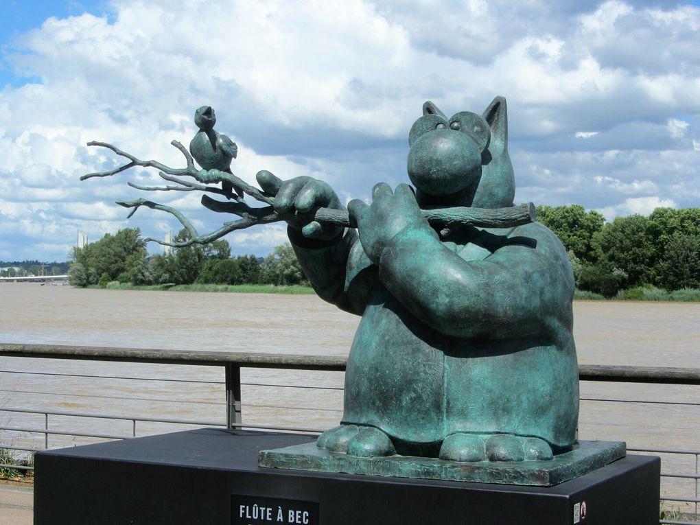 Le chat de Geluck à Bordeaux