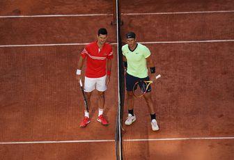 RG - Photos de la demi-finale vs Djokovic