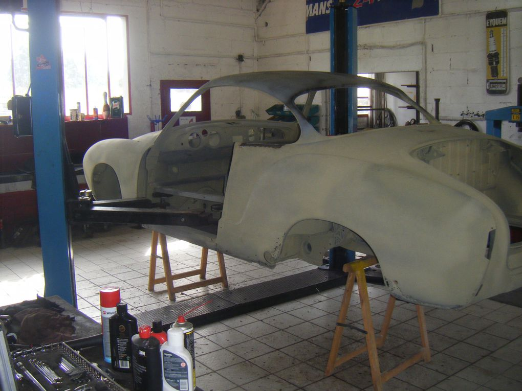 "Dossier photos carrosserie de la restauration du projet Low Light ""Carrera"", by Thomas (Classic Garage)"