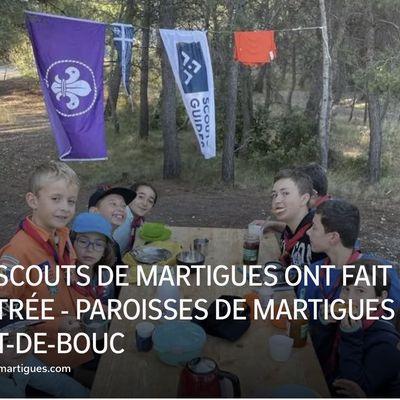 LES SCOUTS DE MARTIGUES ONT FAIT LEUR RENTRÉE
