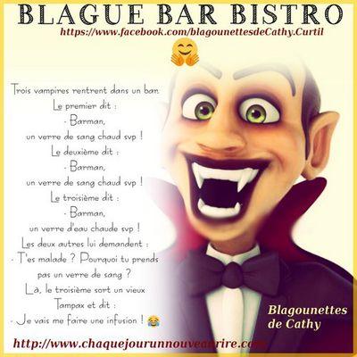 Blague sur le thème bar bistro