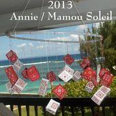 Calendrier de l'Avent d'Annie, brodé 2013, le Tutoriel - Chez Mamigoz