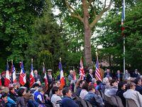 L'UNC de Carrières-sous-Poissy à la commémoration du 70ème anniversaire de la Libération de Verneuil-sur-Seine