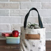 Lunch Box Bag | How To Sew