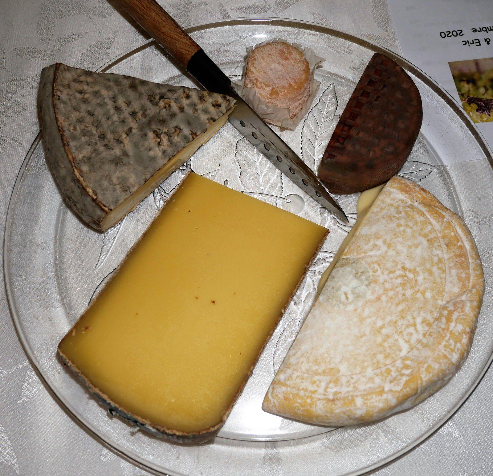 Repas-dégustation avec Labruyère, Drappier, Weinvach, Gendrier, Dom. Laurent, Breton.