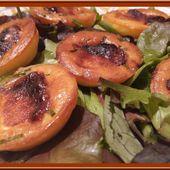 Bouchées au Chavignol, miel et ciboulette - Oh, la gourmande..
