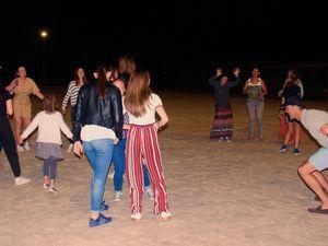 La carrière du centre équestre utilisée comme piste de danse pour cette occasion très festive. Photos DGI ©