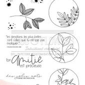 TAMPON CLEAR PLANTES ETOILEES