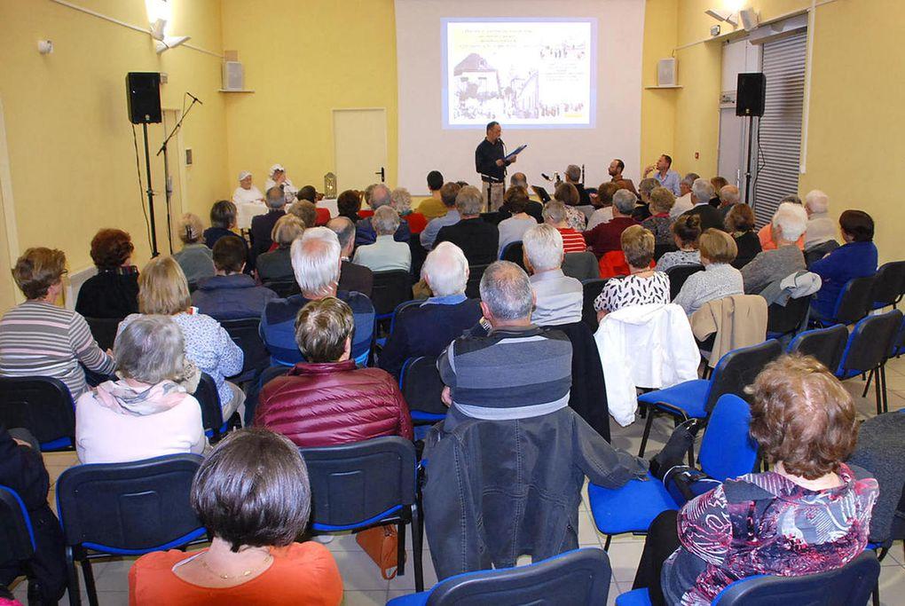 Conférence-spectacle avec Histoire et Patrimoine de Saint-Christophe-sur-le-Nais