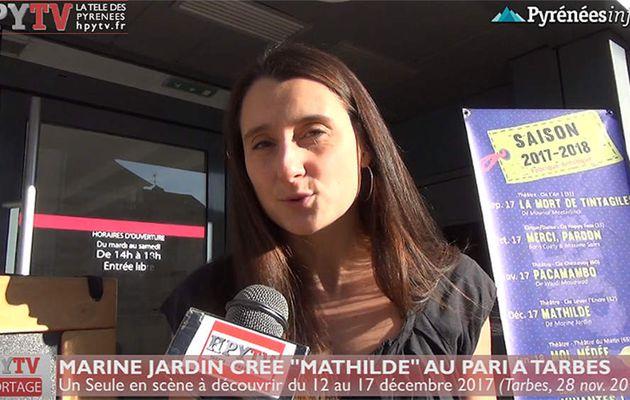 Marine Jardin crée Mathilde au Pari (28 nov 2017) | HPyTv La Télé de Tarbes