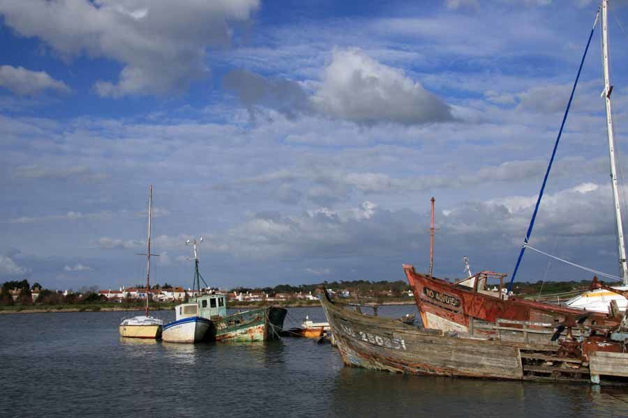 Cimetière de Bateaux en Bretagne - Photos Thierry Weber Photographe de mer à La Baule Guérande