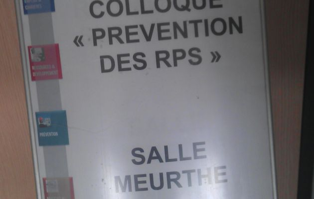 Colloque RPS du CDG 2014, un document incontournable