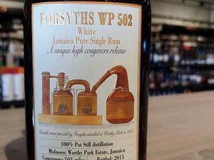 Forsyths WP 502 - White Jamaica Pure Single Rum