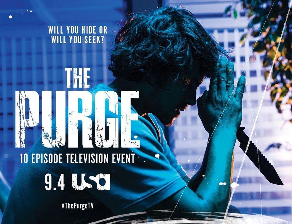Bientôt la série The Purge