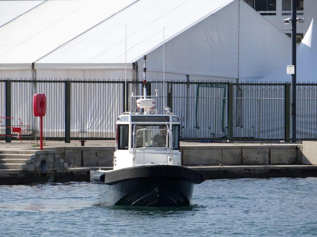 PIPADY , pilotine du port de Toulon a la Seyne sur Mer  le 23 mai 2018