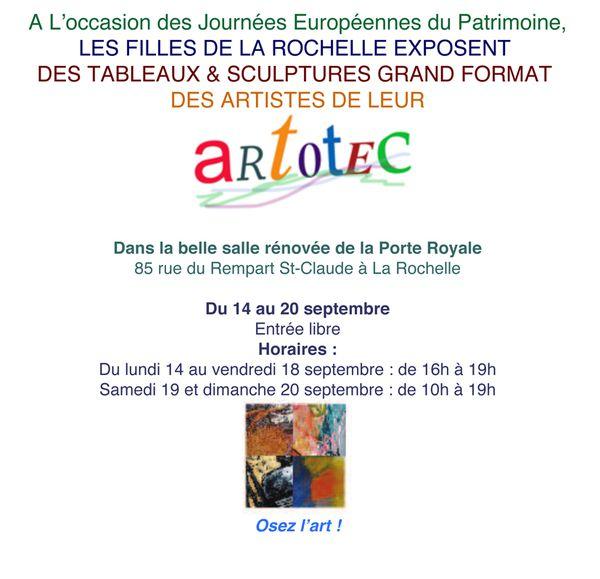Exposition Porte Royale La Rochelle