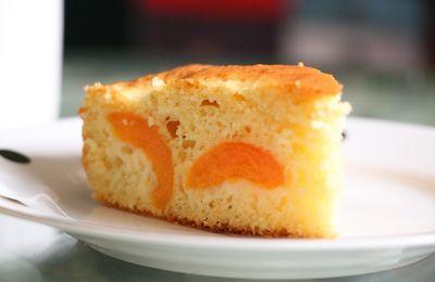 Gâteau au yaourt à l'abricot