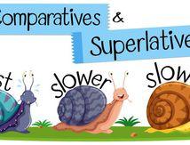 THE COMPARATIVE/THE SUPERLATIVE