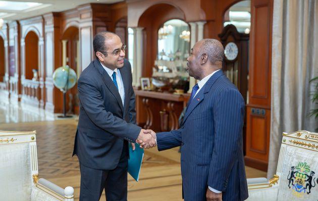 S.E. Ali Bongo Ondimba reçoit l'ambassadeur d'Egypte au Gabon