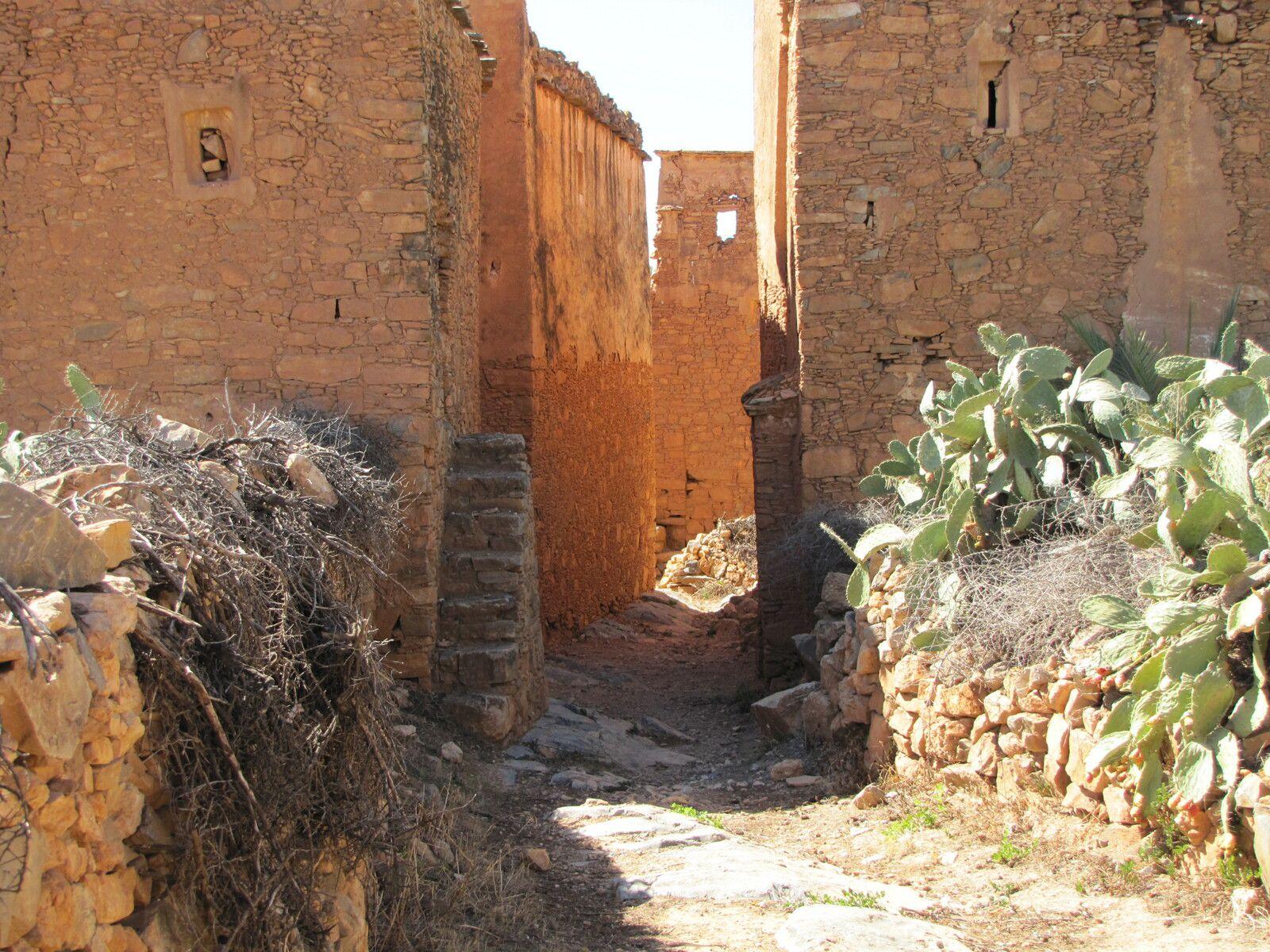 2016 - Maroc l'Agadir  d'Inoumar dans le souss Massa..