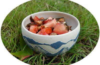 Salade tomate, noisettes & algues - IG Bas