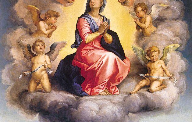 MISTERI GLORIOSI (Mercoledì e Domenica) - 4° mistero glorioso : L'Assunzione di Maria al cielo