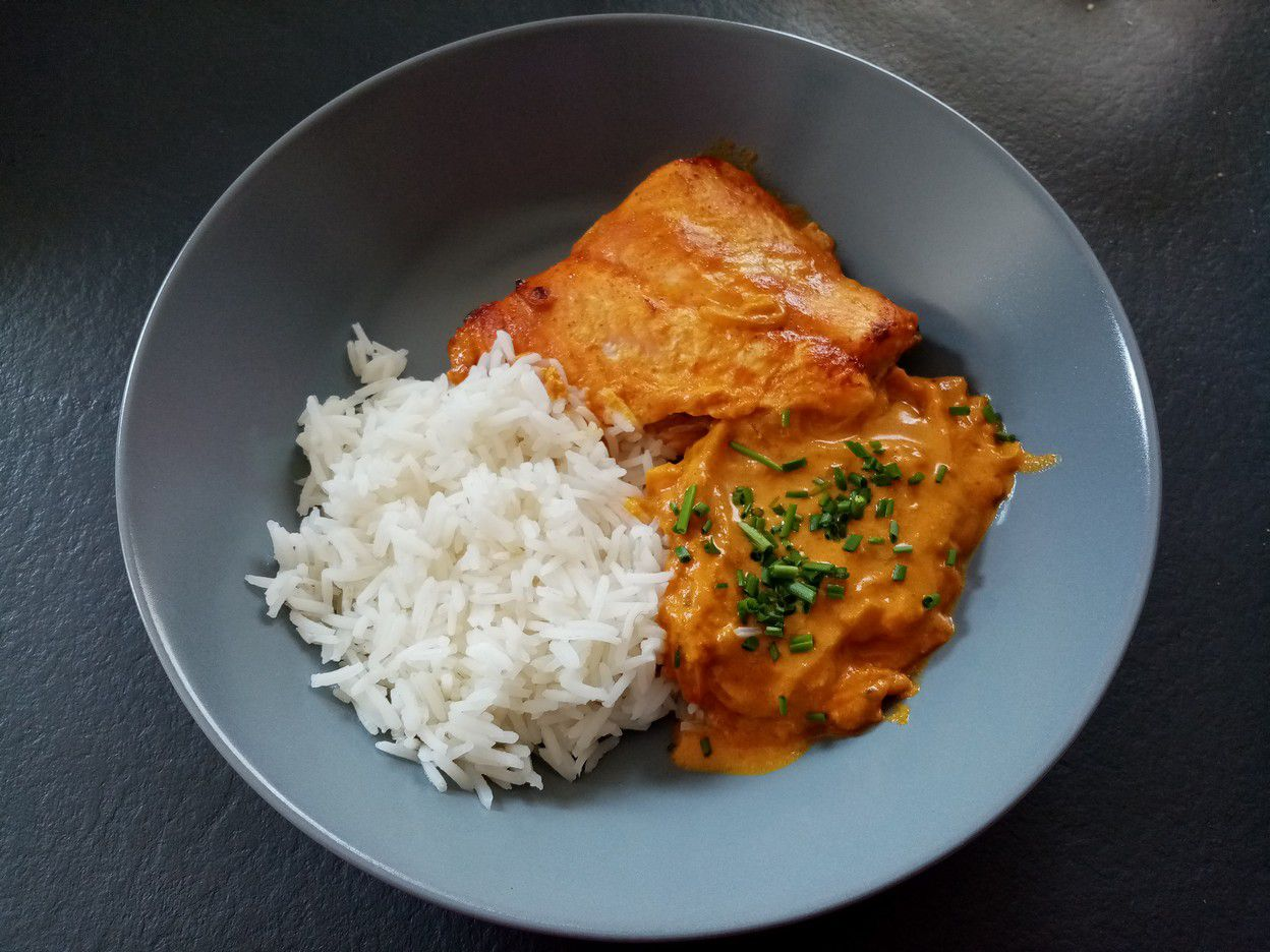 Saumon massala
