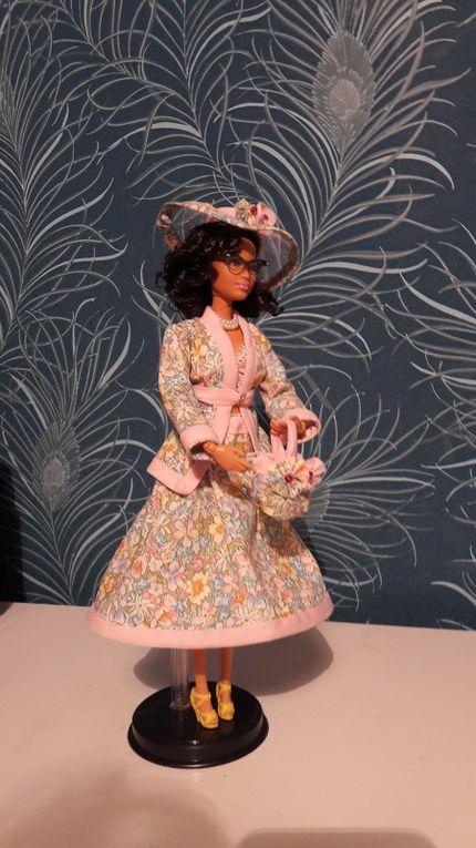La réalisation d'une collection de vêtements de Barbie
