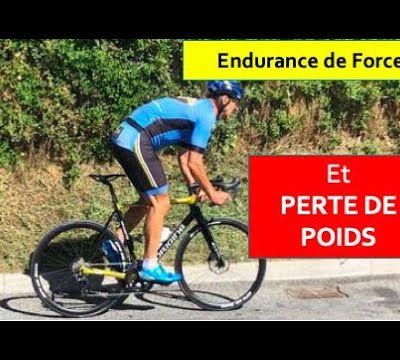 Séance endurance de force à vélo les bénéfices