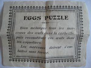 Eggs Puzzle, une étonnante découverte