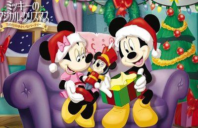 Mickey - Minnie - Noël - Wallpaper - Free